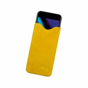 4XL puzdro z brúsenej kože SPRING žlté