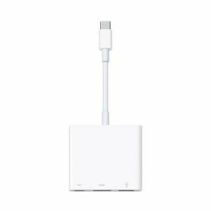 Adaptér Apple MUF82ZM/A USB-C Digital AV Multiport Biely