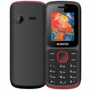 Aligator D210 Dual SIM Čierno-červený - Trieda A