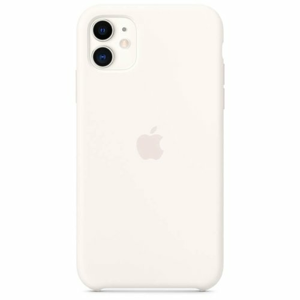 Apple iPhone 11 Silicone Case MWVX2ZM/A - White