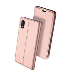 DUX Peňaženkový obal Apple iPhone XR ružové