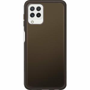 EF-QA225TBE Samsung Soft Clear Kryt pro Galaxy A22 LTE Black