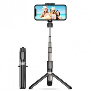 ESR Bluetooth selfie tyč so statívom čierna