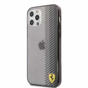 FEHCP12LUYEK Ferrari On Track Gradient Kryt pro iPhone 12 Pro Max 6.7 Black