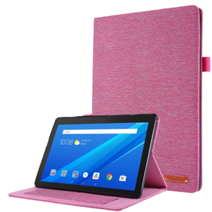 FORCELL CLOTH Zaklápací obal Lenovo Tab E10 (X104) ružový