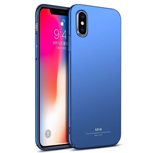FORCELL MSVII Ultratenký obal Apple iPhone XS modrý