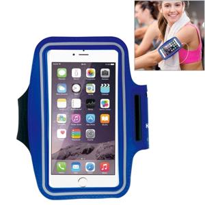FORCELL RUN Univerzálne športové puzdro na mobil modré