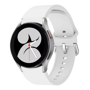 FORCELL SILICONE Remienok Samsung Galaxy Watch 4 Classic 42mm biely
