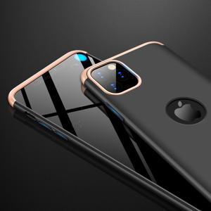 GKK 360° Ochranný kryt iPhone 11 Pro Max čierny-zlatý