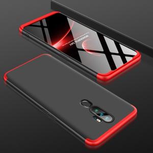 GKK 360° Ochranný kryt OPPO A5 2020 / OPPO A9 2020 čierny-červený