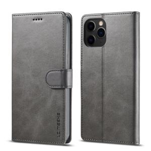 IMEEKE Peňaženkový kryt Apple iPhone 13 Pro šedý