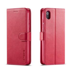 IMEEKE Peňaženkový obal Xiaomi Redmi 7A  ružový