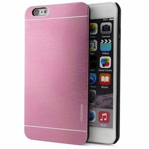 iPhone 6/6s  puzdro z brúseného hliníka svetloružové