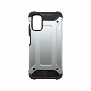mobilNET plastové puzdro Xiaomi Redmi Note 10 5G, strieborné, Military