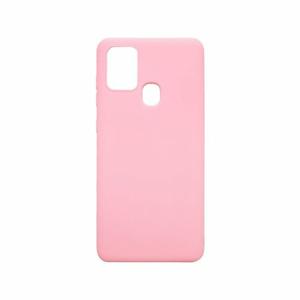 mobilNET silikónové puzdro Samsung Galaxy A21s, matné ružové