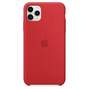 MWYV2ZM/A Apple Silikonový Kryt pro iPhone 11 Pro Max Red (EU Blister)