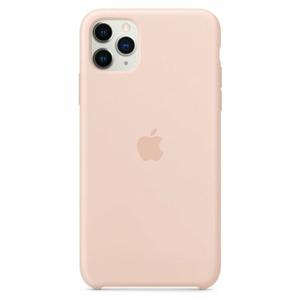 MWYY2ZM/A Apple Silikonový Kryt pro iPhone 11 Pro Max Pink Sand (EU Blister)