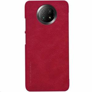 Nillkin Qin Book Pouzdro pro Xiaomi Redmi Note 9T Red