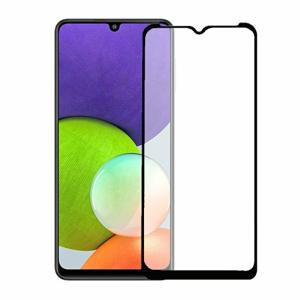 Ochranné sklo 5D Ceramic Samsung Galaxy A22 A226 celotvárové - čierne