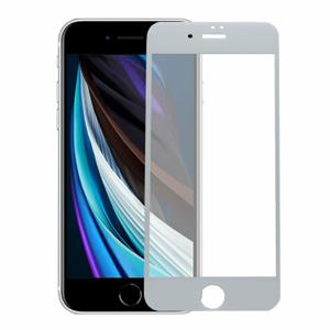 Ochranné sklo 6D Glass 9H iPhone 7/8 celotvárové (full glue) - biele
