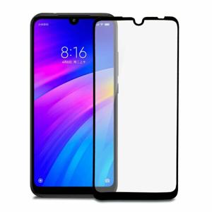 Ochranné sklo Glass 5D 9H Xiaomi Redmi 7 celotvárové (full glue) - čierne