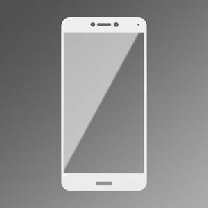 Ochranné sklo Q sklo Huawei P9 Lite 2017 celotvárové - biele