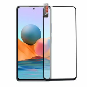 Ochranné sklo Q sklo Xiaomi Redmi Note 10/10S celotvárové - čierne (full glue)