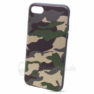 Puzdro Army TPU iPhone 7/8 - zelené
