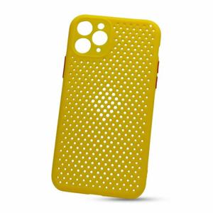 Puzdro Breath TPU iPhone 11 - žlté