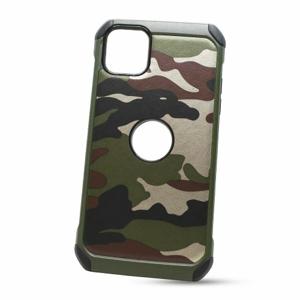 Puzdro Camouflage Army TPU Hard iPhone 11 Pro Max (6.5) - zelené