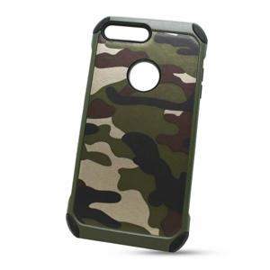 Puzdro Camouflage Army TPU Hard iPhone 7 Plus/8 Plus - zelené