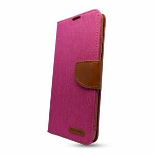 Puzdro Canvas Book Samsung Galaxy A02s A025 - ružové