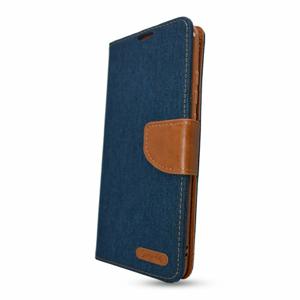 Puzdro Canvas Book Samsung Galaxy A12 A125/M12 M127 - tmavo modré