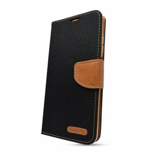 Puzdro Canvas Book Xiaomi Redmi Note 10/10S - čierne
