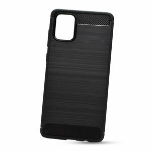 Puzdro Carbon Lux TPU Samsung Galaxy A71 A715 - čierne