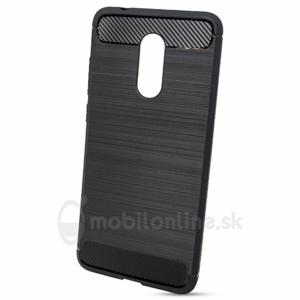 Puzdro Carbon Lux TPU Xiaomi Redmi 5 - čierne