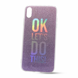 Puzdro Flexi Color TPU iPhone Xs Max - ok lets do this