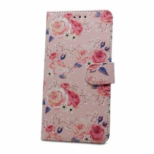 Puzdro Flower Book Huawei P Smart 2019/Honor 10 Lite - kvety