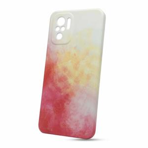 Puzdro Forcell Pop TPU Xiaomi Redmi Note 10/10S- červeno-biele