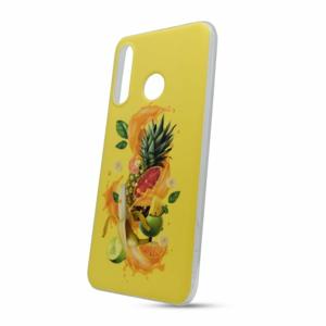 Puzdro Fruit TPU Huawei P30 Lite - žlté