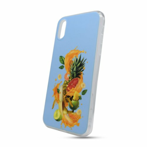 Puzdro Fruit TPU iPhone X/Xs - modré
