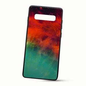 Puzdro Glass Neon TPU Huawei Y7 2019 - galaxia