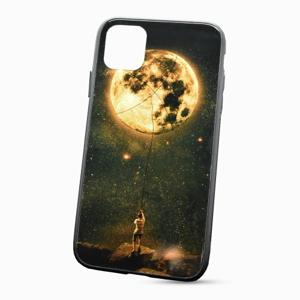 Puzdro Glass Neon TPU iPhone 11 Pro (5.8) - mesiac