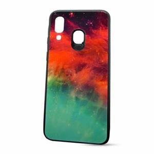 Puzdro Glass Neon TPU Samsung Galaxy A40 A405 - galaxia