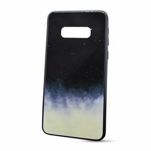 Puzdro Glass Neon TPU Samsung Galaxy S10e G970 - nočná obloha