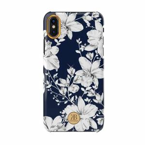Puzdro Kingsbar Blossom TPU iPhone XS Max - modré