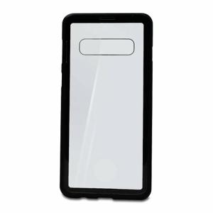 Puzdro Magnet Metal Glass 360 Samsung Galaxy S10 G973 celotelové - čierne