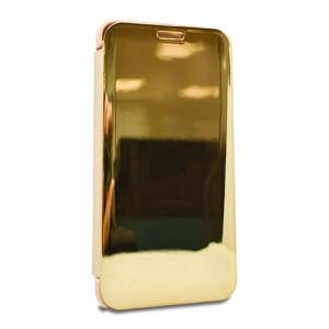 Puzdro Mirror View Book Samsung Galaxy A20e A202 - zlaté