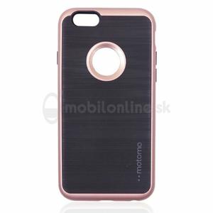 Puzdro Motomo Hard TPU iPhone X/XS - zlato-ružové