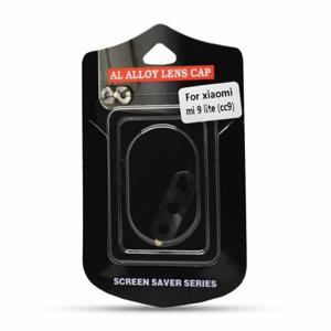 Puzdro na zadnú kameru pre Xiaomi Mi9 Lite - čierne